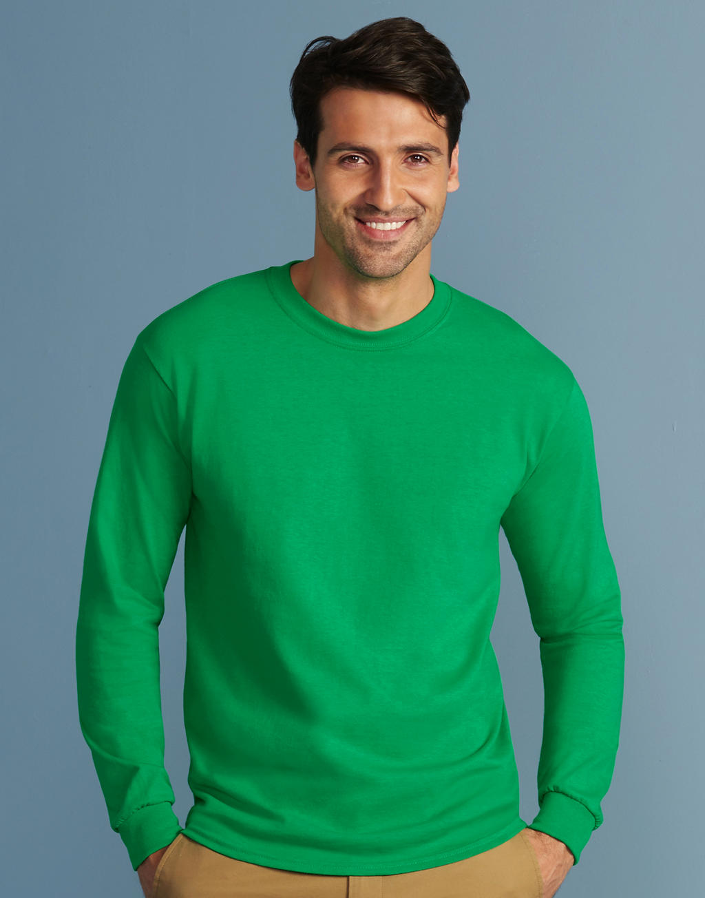 2400 ULTRA COTTON™ ADULT tričko s dlhým rukávom