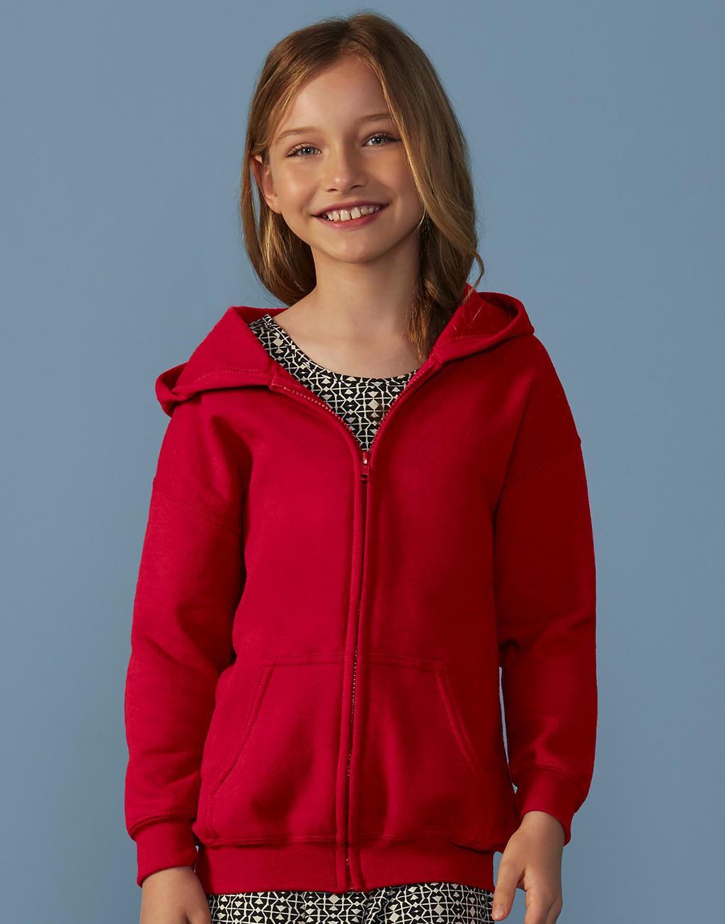18600B HEAVY BLEND™ YOUTH full zip hooded mikina