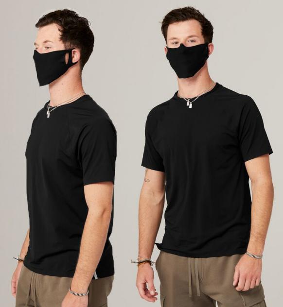 Ľahká textilná maska na tvár