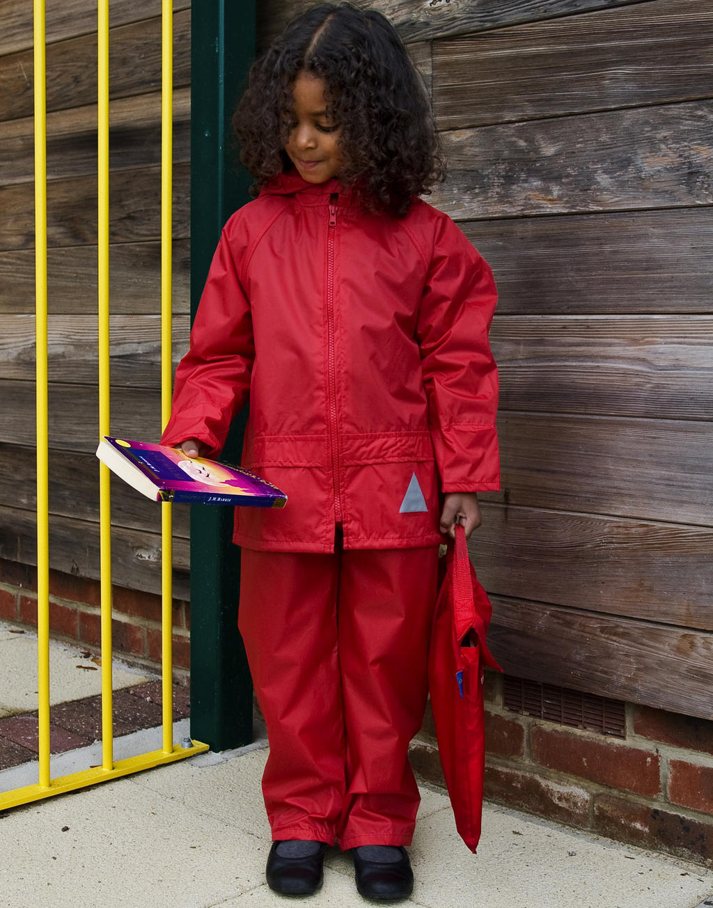 R095J Detské oblečenie do zlého počasia komplet
